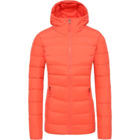 The North Face Stretch Untuva Hupullinen Takki Naiset, radiant orange